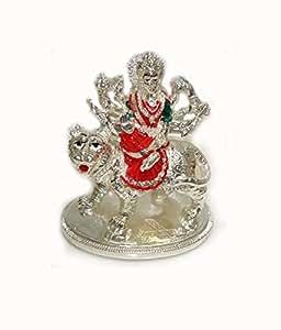 Sun Sea Sun Sea Mata Rani Silver Plated Wax Idol