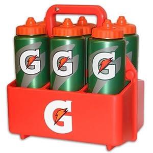 Gatorade Hydration Pack 6 Gatorade G Bottles and a Gatorade Carrier by Gatorade
