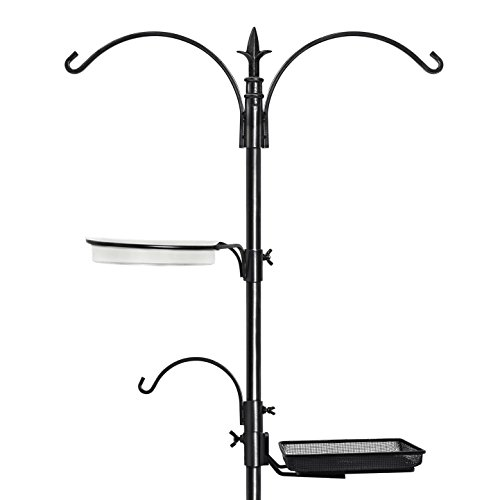 graybunny-gb-6844-premium-bird-feeding-station-kit-22-wide-x-91-tall-82-above-ground-height-a-multi-