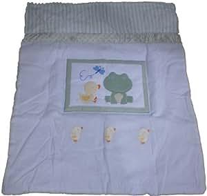 Frog and Ducks 4 Piece Baby Crib Bedding Set