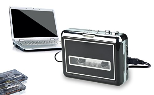 WeRecord USB Cassette Player - Turn your old cassette tapes to digital MP3