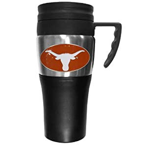 Buy NCAA Texas Longhorns 2 Toned Travel Mug by Siskiyou Sports
