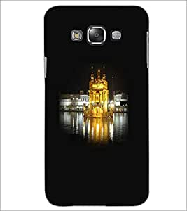 PrintDhaba Golden Temple D-1268 Back Case Cover for SAMSUNG GALAXY A8 (Multi-Coloured)
