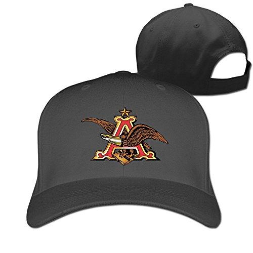 anheuser-busch-logo-fitted-hats-plain-baseball-cap