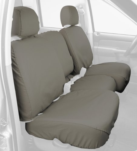 Taupe Tweed Fia OE32-94 TAUPE Custom Fit Rear Seat Cover Split Seat 60//40