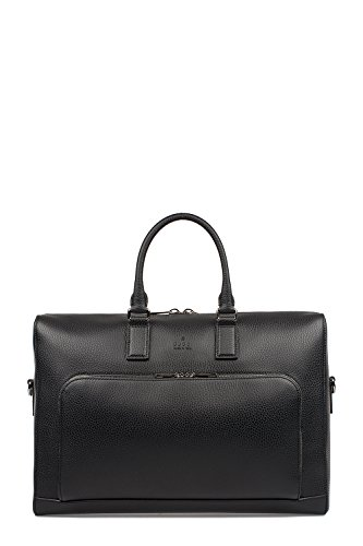 GUCCI MENS 411872CAOAN1000 BLACK LEATHER BRIEFCASE