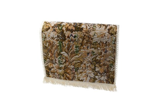 Decorative Floral Castles Tapestry Chair Backs with Cotton Fringe Sofa Furnit...