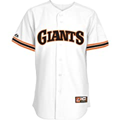 Majestic Athletic San Francisco Giants Blank Cooperstown Replica Home Jersey by Majestic Athletic