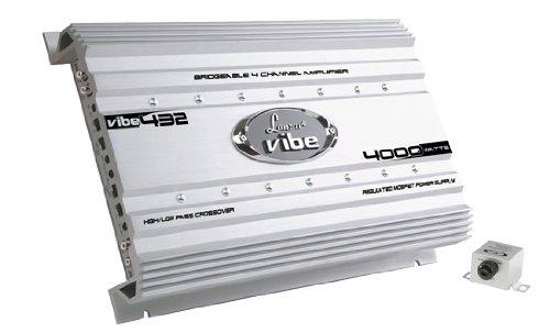 Lanzar VIBE432 Vibe 4000 Watt 4 Channel Mosfet Amplifier