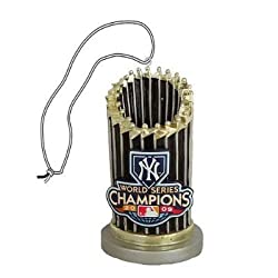 New York Yankees 2009 World Series Champions Trophy Ornament