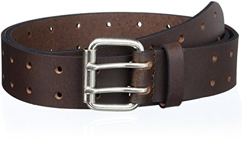 Dickies Men's 35mm Genuine Leather Belt, Brown, 40 (Dickies Leather Belt compare prices)