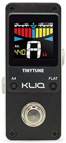 kliq-tinytune-tuner-pedal-for-guitar-bass-mini-chromatic-with-pitch-calibration-flat-tuning-power-su