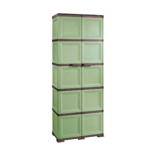 Tontarelli 5-Tier Cabinet with Large Utility Section and 1 Optional Partition