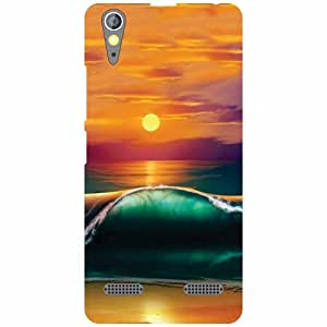 Printland High Tide Phone Cover For Lenovo A6000 Plus