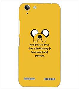 PrintDhaba Quote D-5342 Back Case Cover for LENOVO A6020a46 (Multi-Coloured)