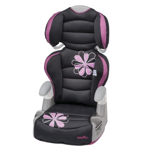 Cheapest Prices! Evenflo Amp High Back Booster Car Seat, Carrissa
