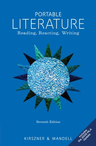 Portable Literature: Reading, Reacting, Writing, 2009 MLA Update Edition (Kirszner Portable Literature compare prices)