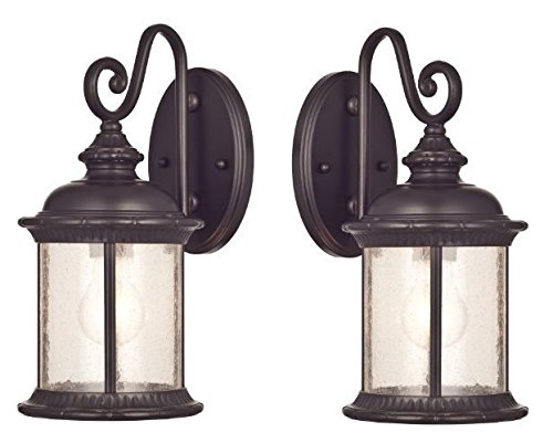 westinghouse-6230600-new-haven-one-light-exterior-wall-lantern-on-steel-with-clear-seeded-glass-oil-