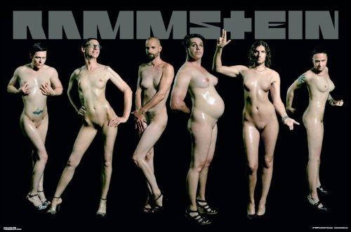 Empire 326553 - Poster musicale gruppo rock tedesco Rammstein nudi, dimensioni 91,5 x 61 cm