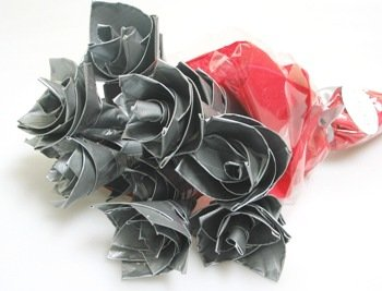 Duct Tape Roses - Flowers for Guys