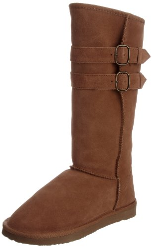 Ukala Women's Ruby Chestnut Knee High Boots Ukw80008 6 UK