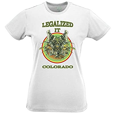 Legalized It Colorada Cheese Zoot Cannabis Weed Medical Marijuana Vote Womens T-Shirt