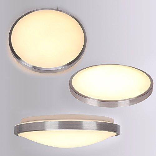 baytter led deckenlampe deckenleuchte badlampe wandlampe lampe leuchte warmweiss 12w 18w. Black Bedroom Furniture Sets. Home Design Ideas