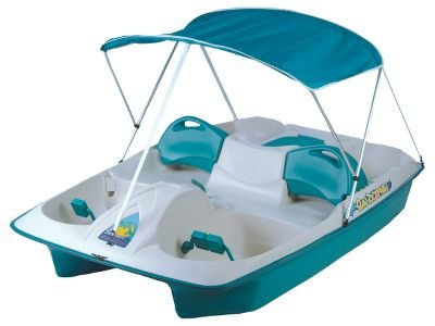 Image of Sun Slider Pedal Boat With Canopy (B0052AF8G4)