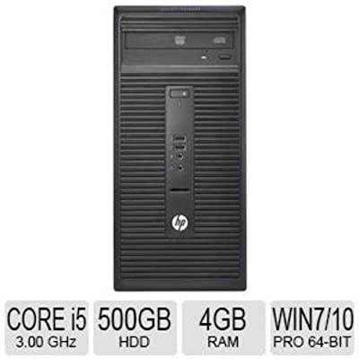 Desktop HP 280 G1 Win 8.1 Pro/ Corei3-4160/ 4GB RAM/ 500 GB HDD/ 3.6 GHz/7200 RPM/ Super Multi DVD RW/ 3 Year...
