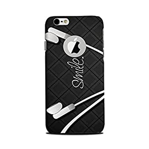 iPhone 6s/ iphone 6 logo cut Back Cover - Printrose designer mobile back cover cases and cover for iPhone 6s/ iphone 6 Smile