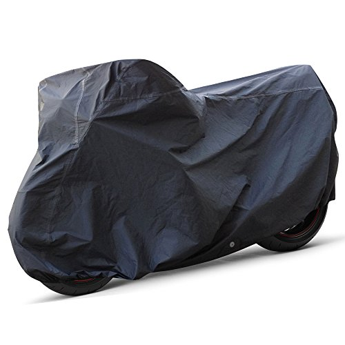 OxGord Executive Storm-Proof Motorcycle Cover - 100% Water-Proof 7 Layers - Ready-Fit / Semi Custom - Fits up to 97 Inches (Motorcycle Cover All Weather compare prices)