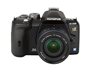 Olympus Evolt E510 10MP Digital SLR Camera with CCD Shift Image Stabilization and 14-42mm f/3.5-5.6 Zuiko Lens