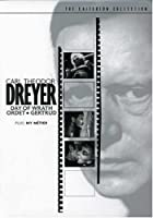Carl Theodor Dreyer Set (Day of Wrath / Ordet /Gertrud / My Metier) (The Criterion Collection)