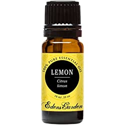 Lemon 100% Pure Therapeutic Grade Essential Oil by Edens Garden- 10 ml