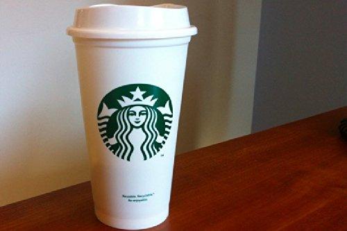 スターバックス プラスティック マグ カップ 16oz USA 限定 紙コップ風 スタバ プラカップ 白 エコ カップ