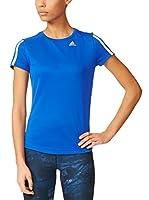 adidas Camiseta Manga Corta Oz M (Azul / Blanco)
