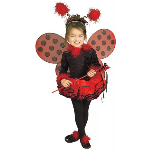 Deluxe Lady Bug Costume - Small front-517691