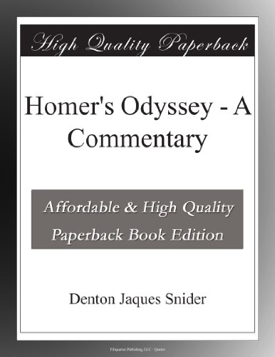 Homer's Odyssey - A Commentary