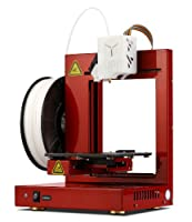 """UP! Plus 2 Fully Assembled 3D Printer, 5.3"""" x 5.5"""" x 5.5"""" Maximum Build Dimensions, 0.15-mm Maximum Resolution, 1.75-mm ABS, PLA from Beijing TierTime Technology Co."""