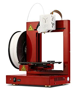 "UP! Plus 2 Fully Assembled 3D Printer, 5.3"" x 5.5"" x 5.5"" Maximum Build Dimensions, 0.15-mm Maximum Resolution, 1.75-mm ABS, PLA from Beijing TierTime Technology Co."