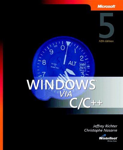 Windows via C/C++ (Developer Reference)