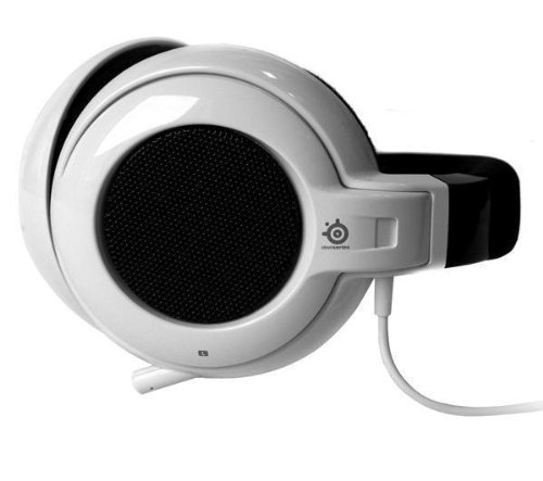 SteelSeries Siberia Neckband Gaming Headset (White)