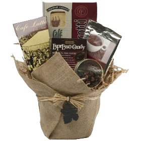 Art of Appreciation Gift Baskets Espresso Yourself Coffee & Snacks Gift Basket