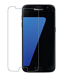 Celltone (TM) Samsung Galaxy S7 Premium Tempered glass and 9H hardness toughened screen protector with installation kit