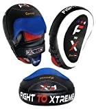 Vader Sports Pro Focus Pads Leather Hook & Jab Pads Curved MMA UFC Training Punch Pads F T X