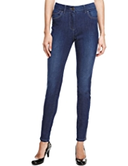 M&S Collection Ankle Zipped Denim Jeggings