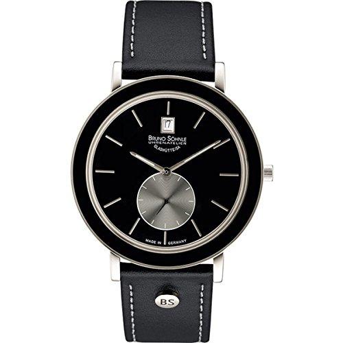 Bruno Söhnle Women's Quartz Watch with Silver Naturale II Analogue Quartz Leather 17-73139Pump