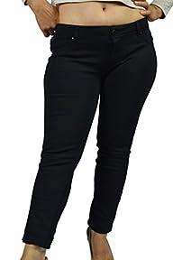 GARNI Junior Skinny Dress Pants BLACK
