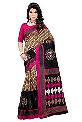 Glory sarees Women's designer Bhagalpuri Art Silk Saree kalapi30