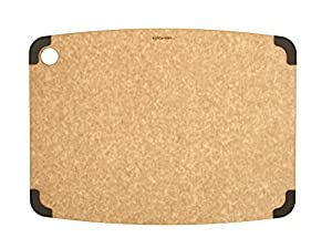 Epicurean Non-Slip Series Cutting Board, 17.5-Inch by 13-Inch, Natural/Brown